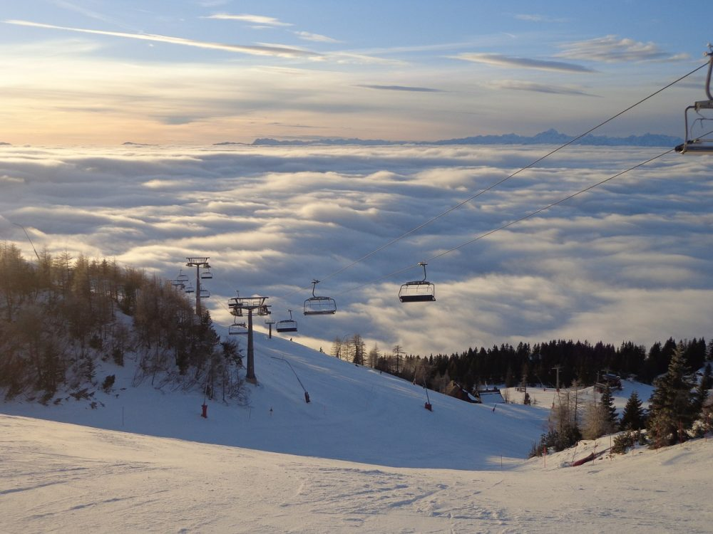 Krvavec - low cost skiing holidays - PixabayCC image by Lena1