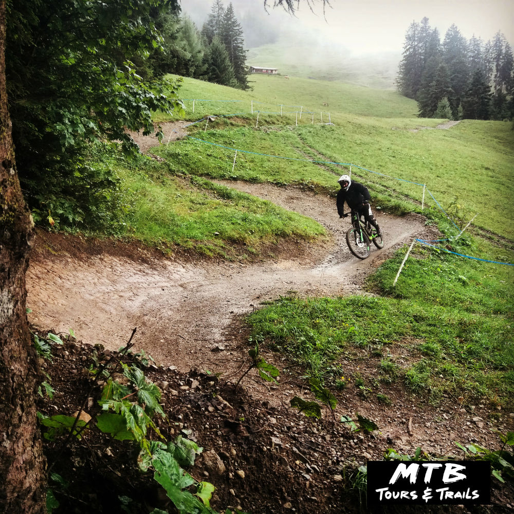 MTB Vorarlberg Review of Brandnertal Bikepark in Austria Photo by Irian from MTB Tours and Trails