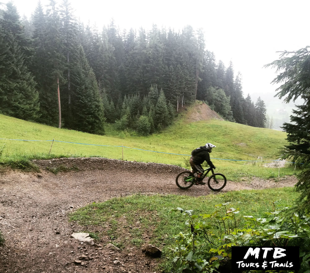 MTB Vorarlberg Review of Brandnertal Bikepark in Austria Photo by Irian of MTB Trails and Tours