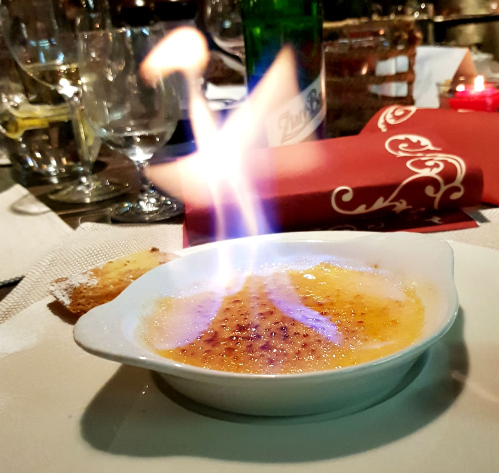 Review of Jasna Adventures dragons lair ski holiday in Slovakia eating out