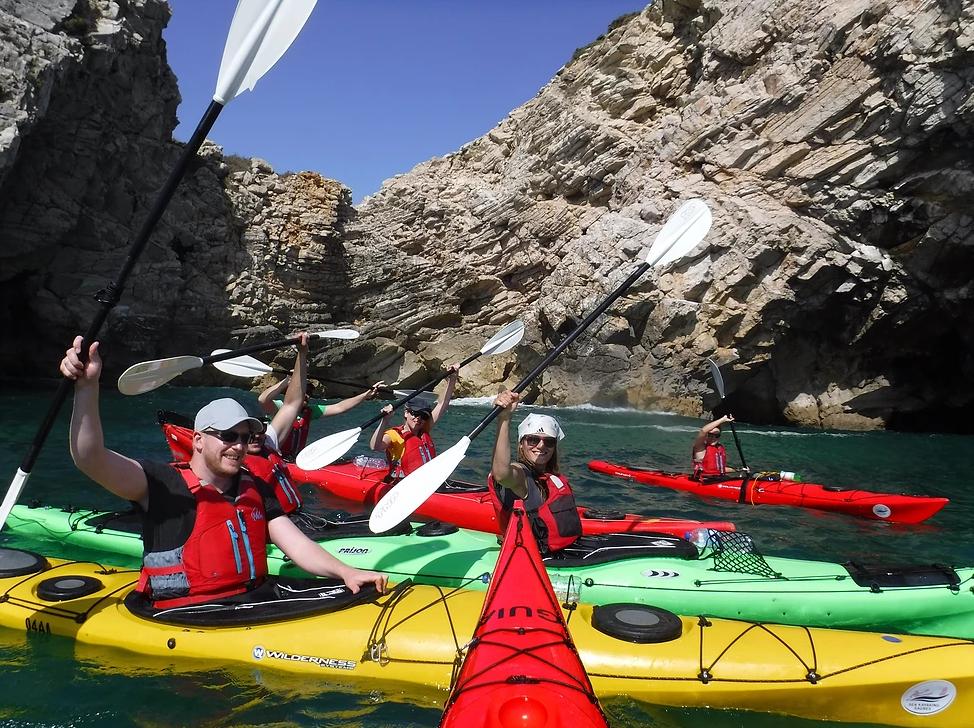 Sea Kayaking Sagres discount: 10% off kayaking tours in Portugal