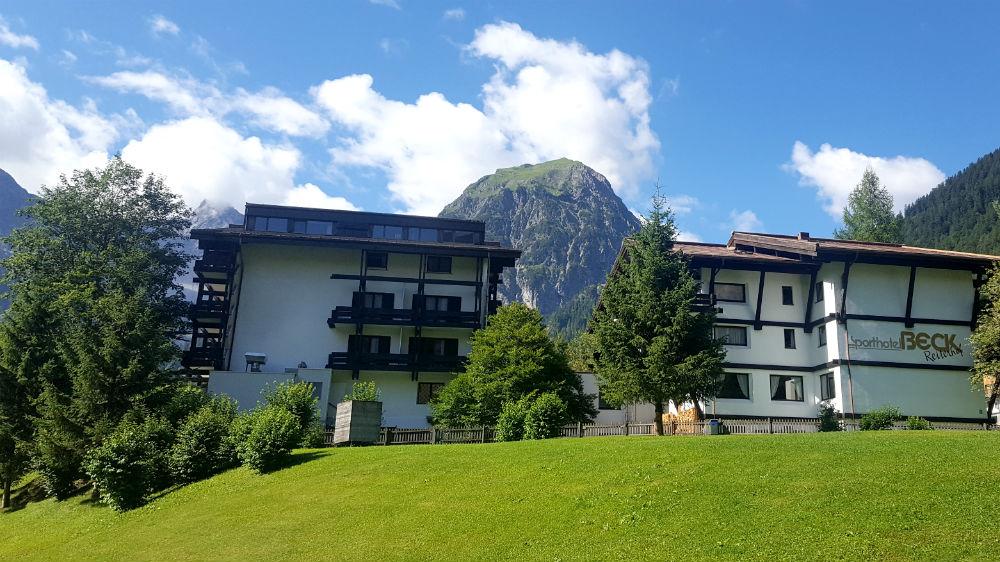 sport hotel Beck in Brandnertal, Vorarlberg, Austria