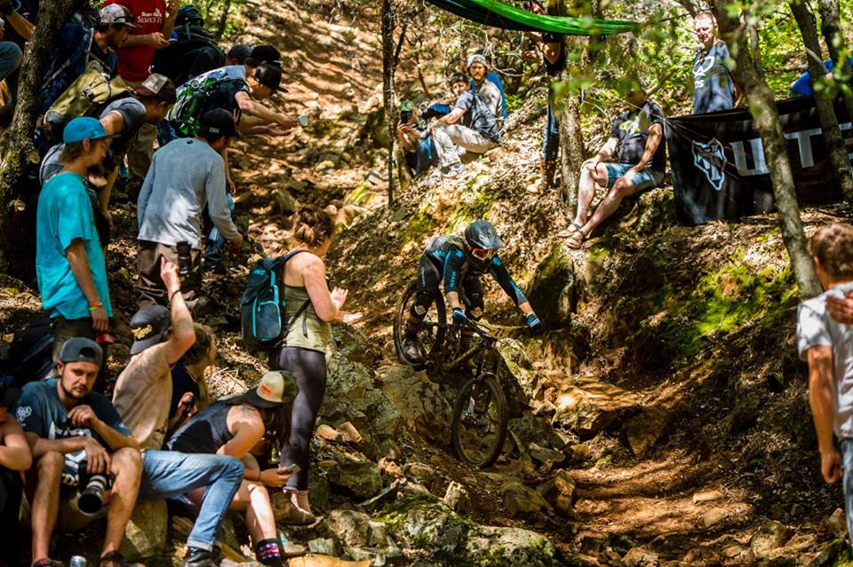 Interview with Amy Morrison Professional enduro mountain biker image from Amy Morrison Facebook page