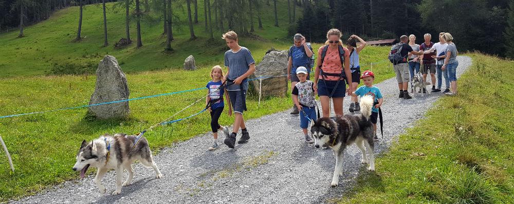 Review of Brandnertal multi activity family holiday in Vorarlberg Huski Toni