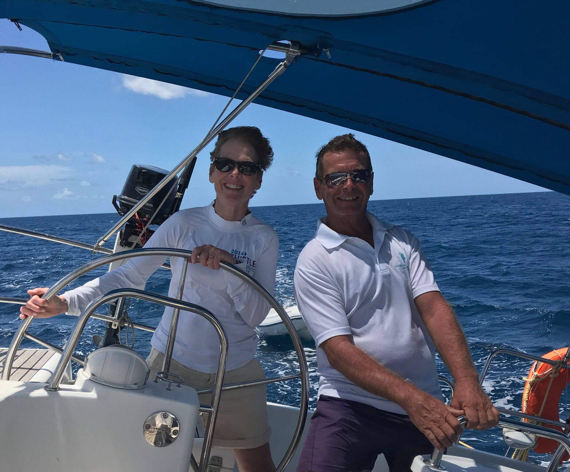 SeaHorse Sailing School discount off Grenadines learn to sail holidays