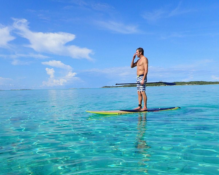 Bahamas adventure holidays SUP one of the best Exuma activities Flickr CC image by bookfinch