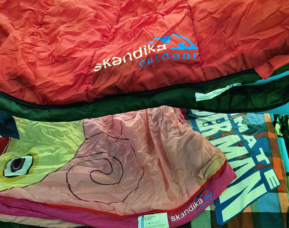 Review of Skandika sleeping bags for all the family 1