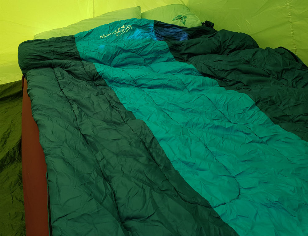 Review of Skandika sleeping bags for all the family - Orkney double