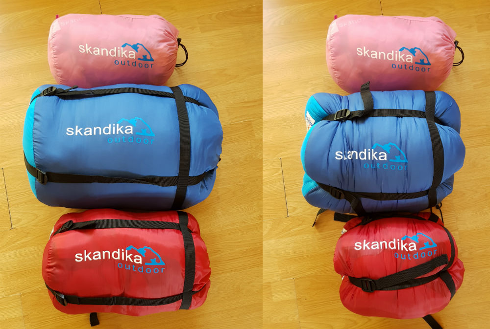 Review of Skandika sleeping bags for all the family compression
