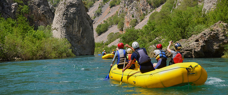 croatia white water rafting - Zrmanja - Flickr CC image by Raftrek Adventure Travel Croatia