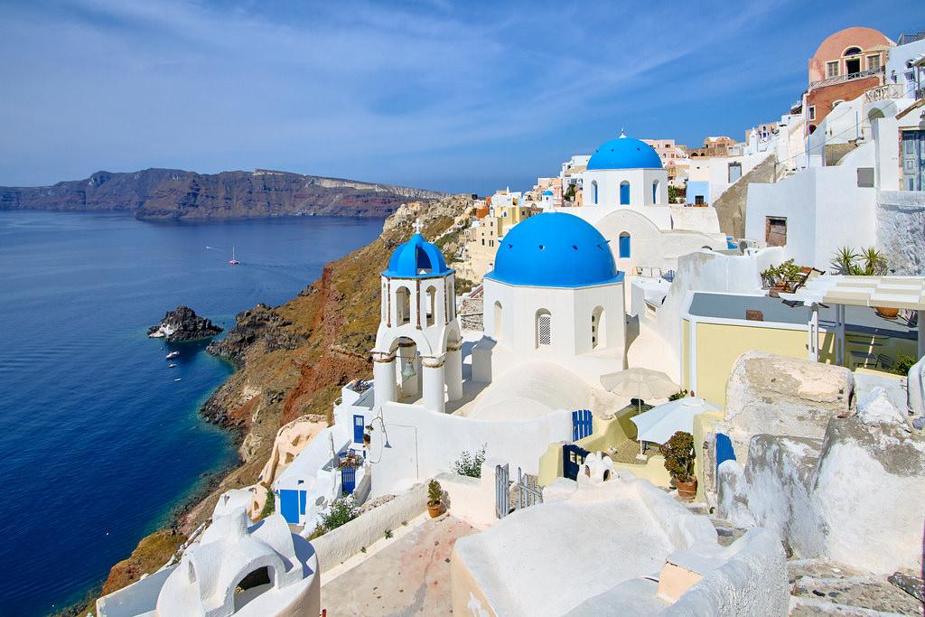 Best island adventures Activities on Tripadvisor's top 10 islands Flickr image of santorini by szeke