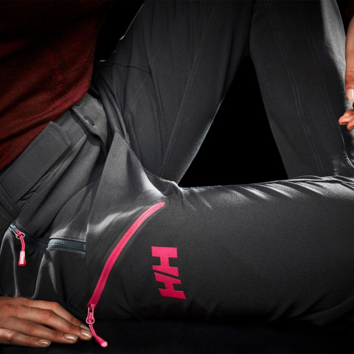 HH Odin Muninn Pants review Softshell mountain activity trousers black