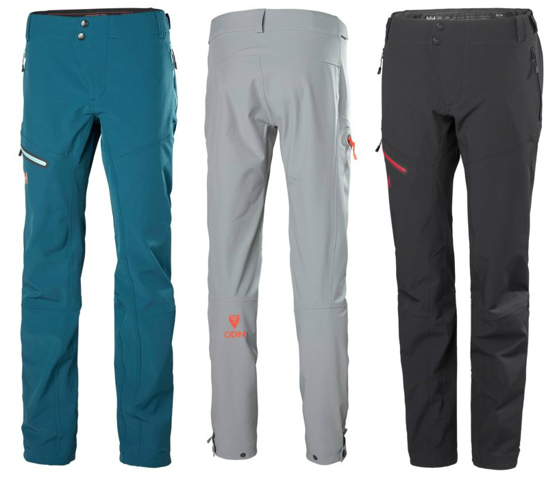 HH Odin Muninn Pants review Softshell mountain activity trousers