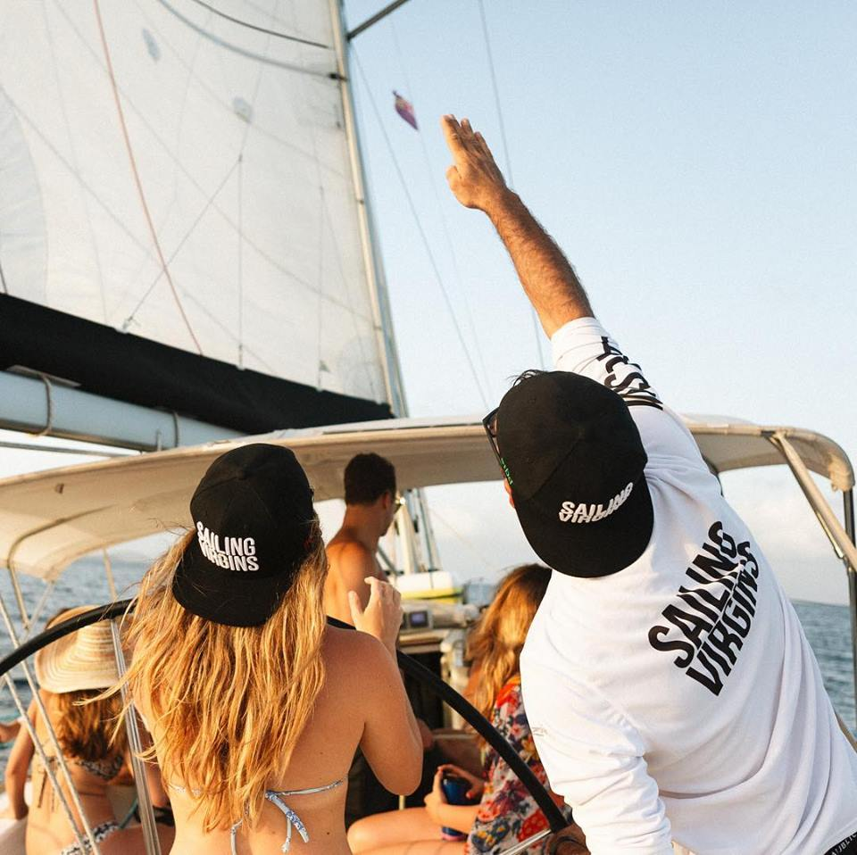 Want to sail in the Caribbean Here's how Image courtesy of Sailing Virgins by Hagop