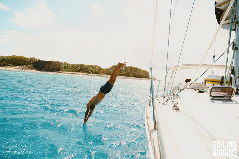 Want to sail in the Caribbean Image courtesy of Sailing Virgins