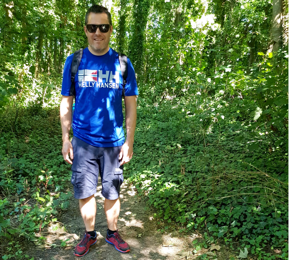 head to toe in Range of Helly Hansen technical summer outdoor clothing tested