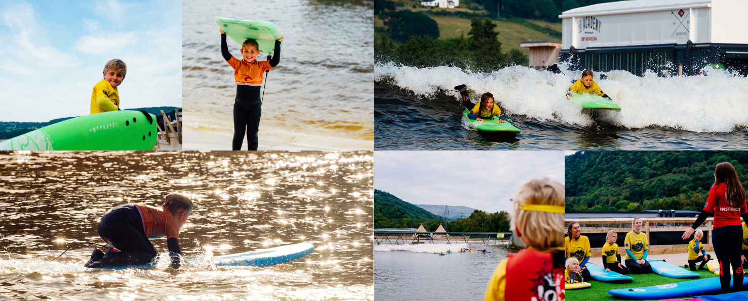 11 best UK family adventures British activity holidays with kids Image courtesy of Surf Snowdonia