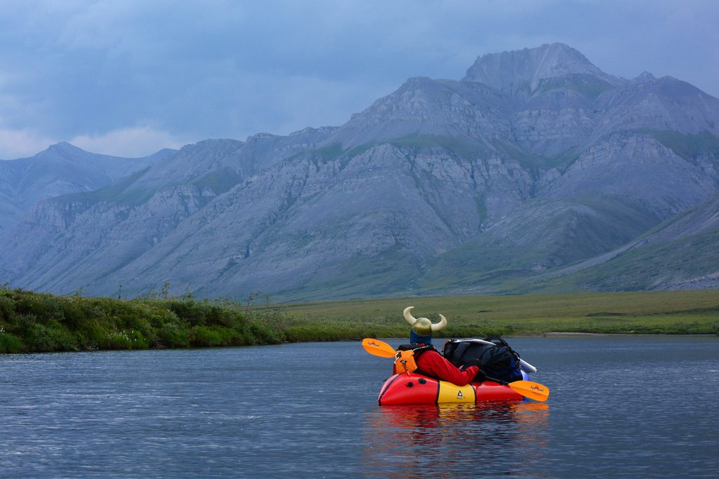 Best adventures for singles: 8 solo activity holidays not to miss Flickr CC image of kayaking during expedition Argut in Alaska by Paxon Woelber