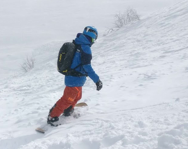 Review of Montafon snowboarding holiday in Gargellen Austria backcountry 2b