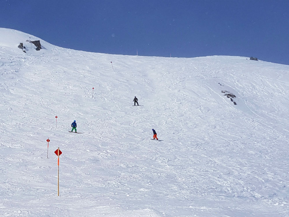 Review of Montafon snowboarding holiday in Schruns Austria Freeride Itinerary