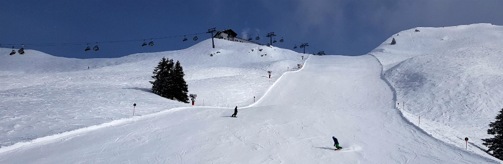 Review of Montafon snowboarding holiday in St Gallenkirch Austria