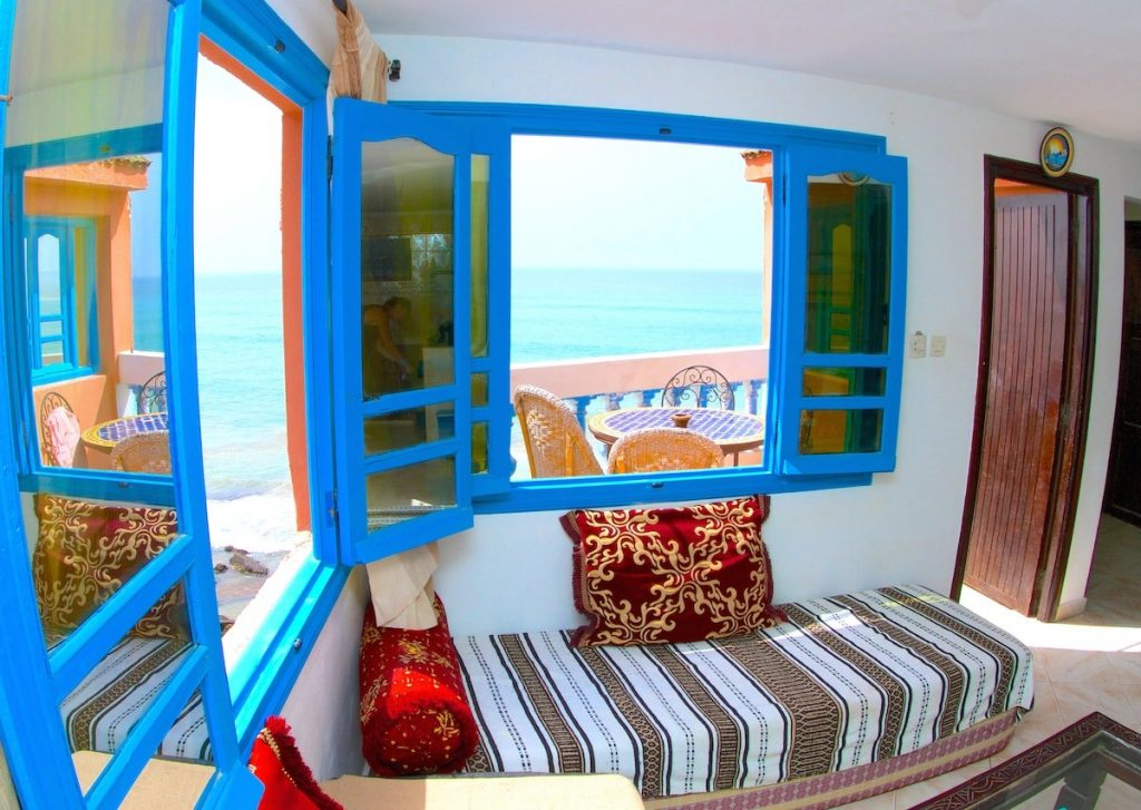 Taghazout beginner surfing holiday in Morocco with Surf Berbere