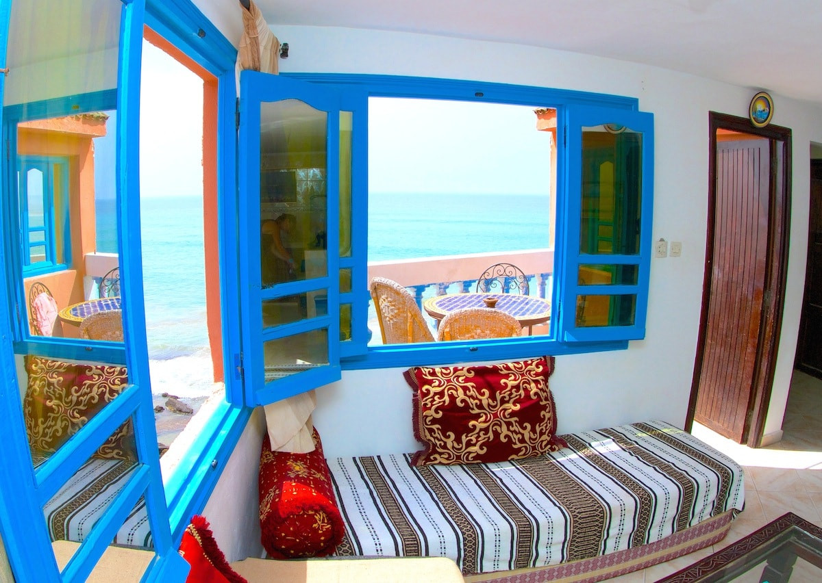 Review of Surf Berbere Taghazout surf holiday in Morocco photo courtesy of Surf Berbere