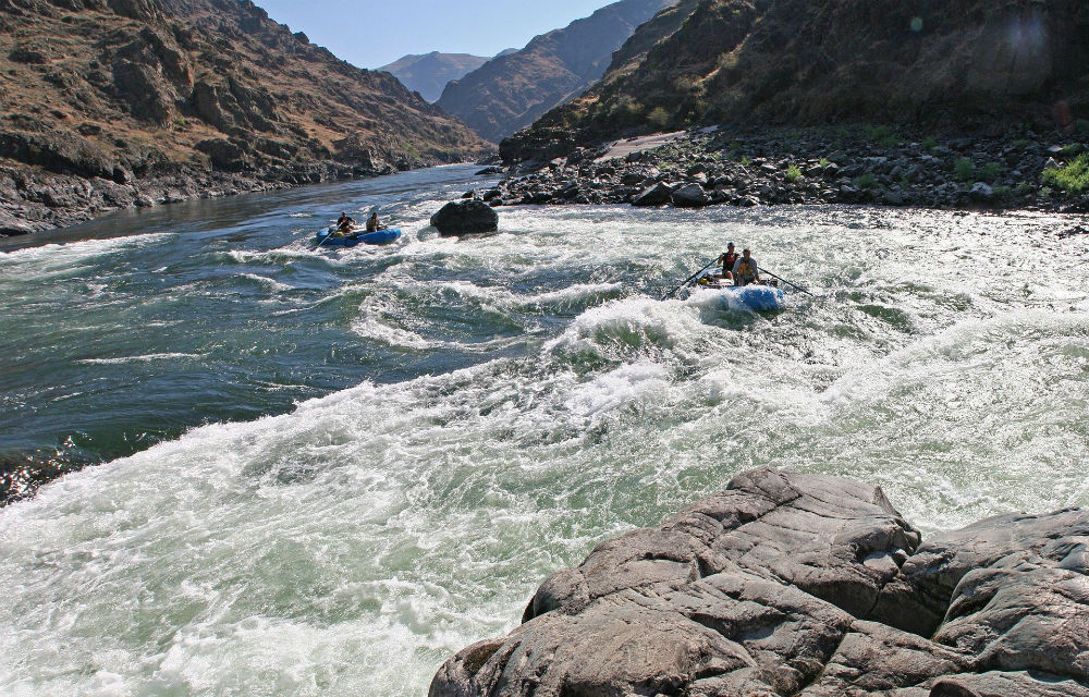 Best US rafting Top 10 United States whitewater rafting rivers Salmon River Idaho