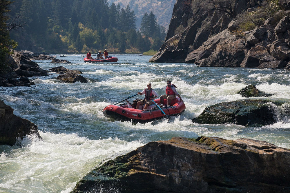 Best US rafting Top 10 United States whitewater rafting rivers
