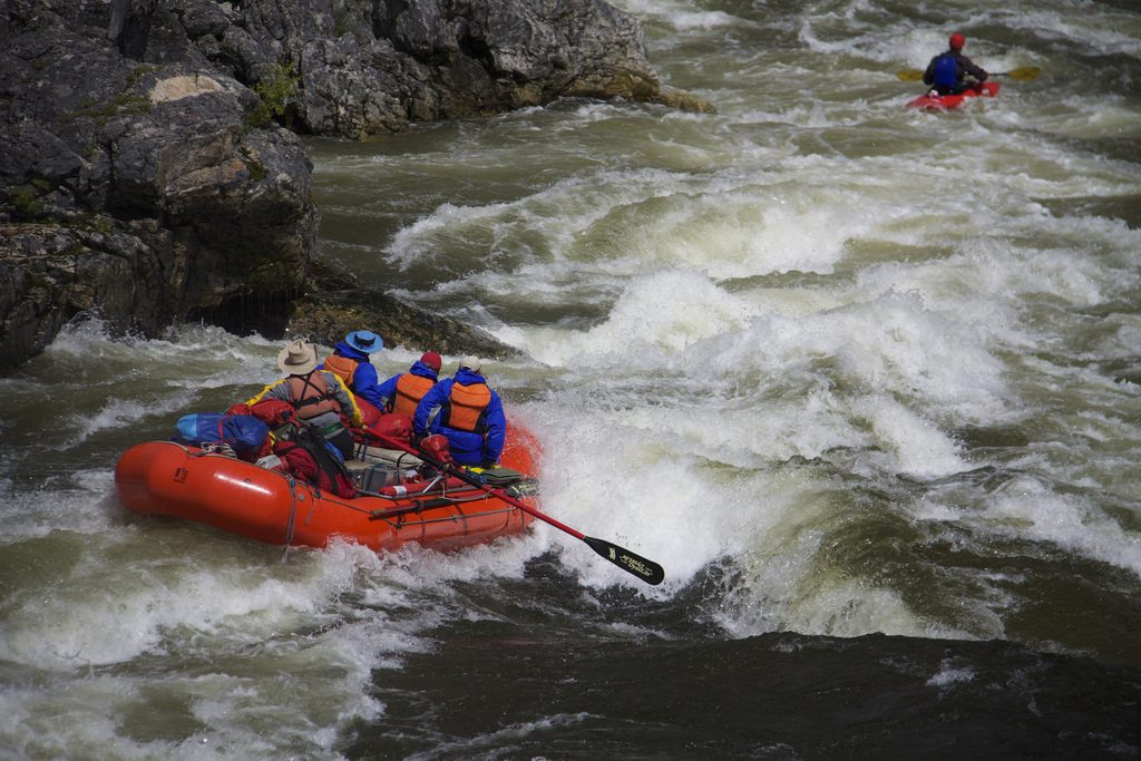 Flickr CC image of Salmon River by Northwest Rafting Company