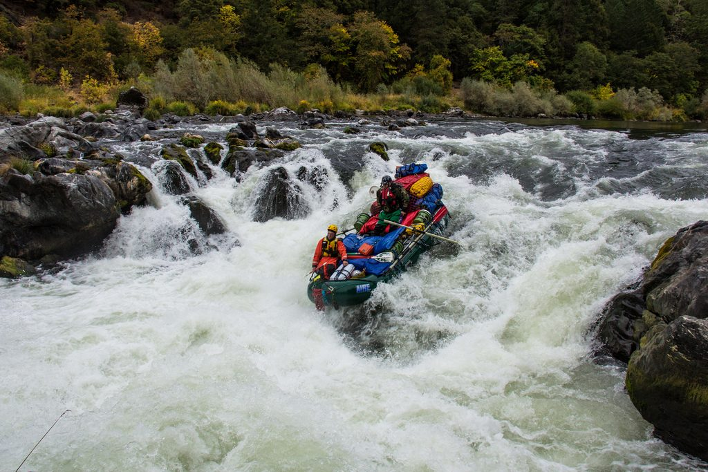 Best US rafting Top 10 United States whitewater rafting rivers Flickr CC image of Rogue River, Oregon by U.S. Department of the Interior
