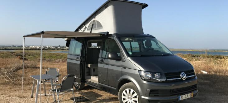 Portugal campervan holidays, camping, hiking, kayaking and MTB in Peneda-Geres NPImages of VW Atlantic courtes of Siesta Campers