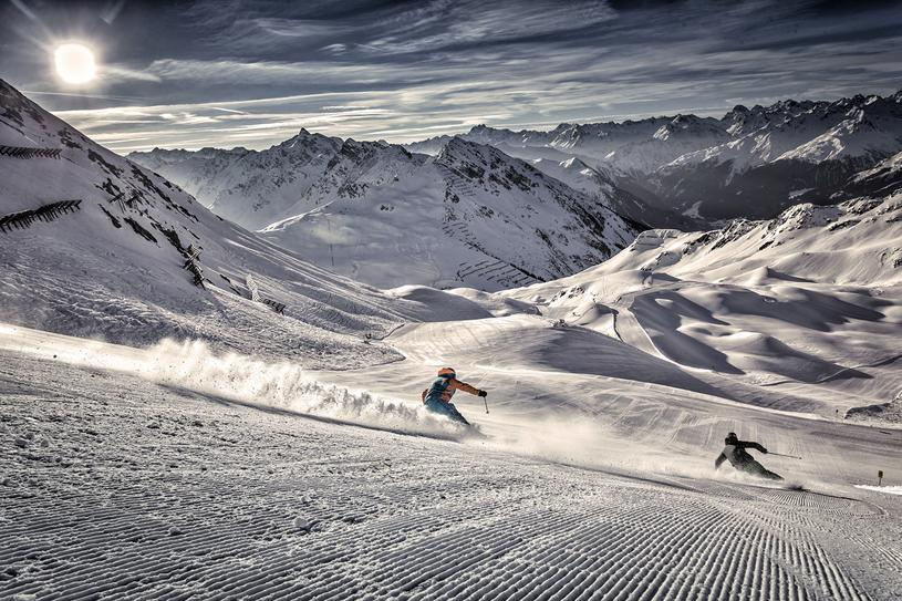 Review of Lowen Hotel in Schruns Montafon ski holiday in Austria Image courtesy of Silvretta Montafon by Andreas Frank