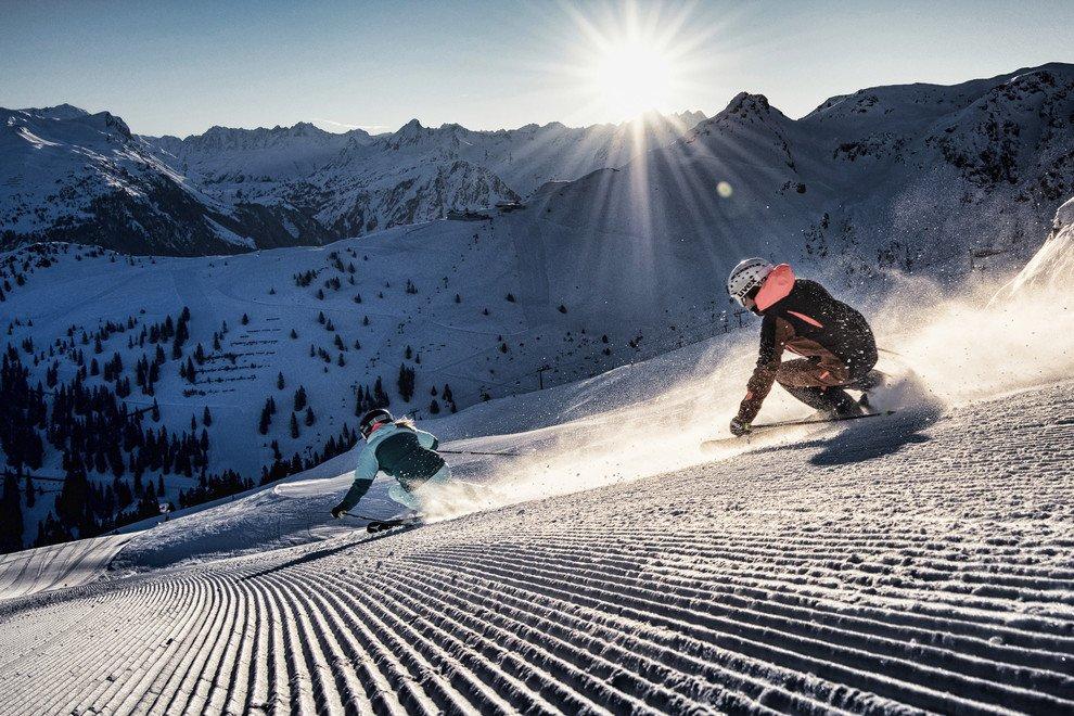 Review of Lowen Hotel in Schruns Montafon ski holiday in Austria Image courtesy of Silvretta Montafon by Daniel Zangerl