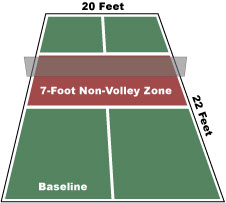 What is pickleball - pickleball court - CC wikipedia image by the PickleballPaddle
