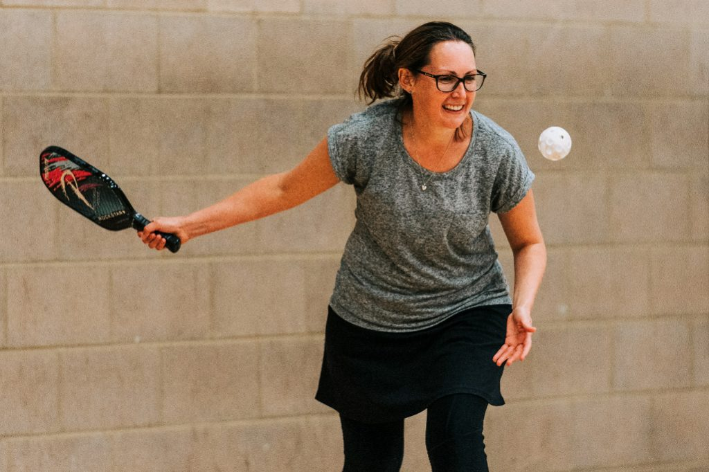 What is Pickleball - Jacqui of Surrey Wassps - Mindy Coe Photography