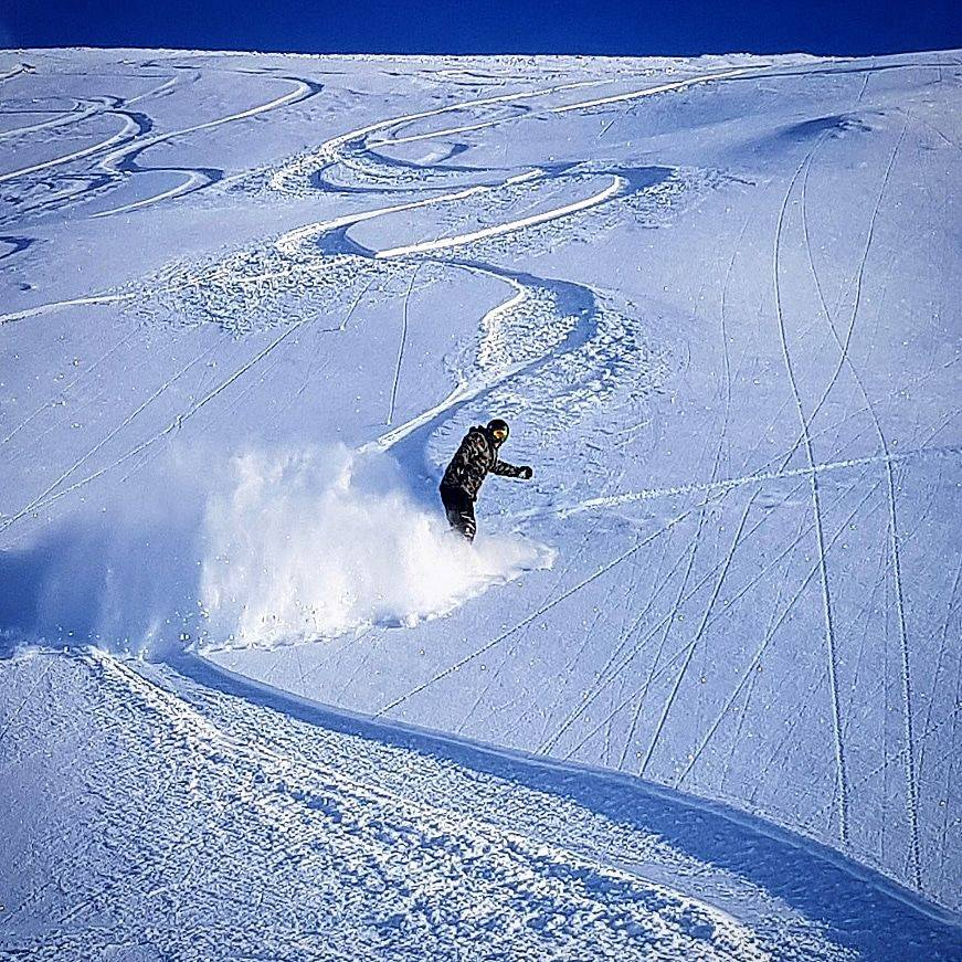 Review of Ischgl snowboarding in December from Idjoch to Idalp