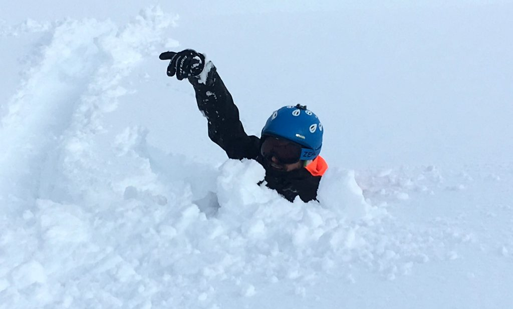 Review of Ischgl snowboarding in December in deep snow
