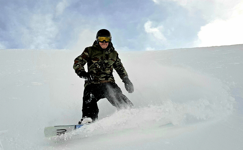 Review of Ischgl snowboarding in December on day 3