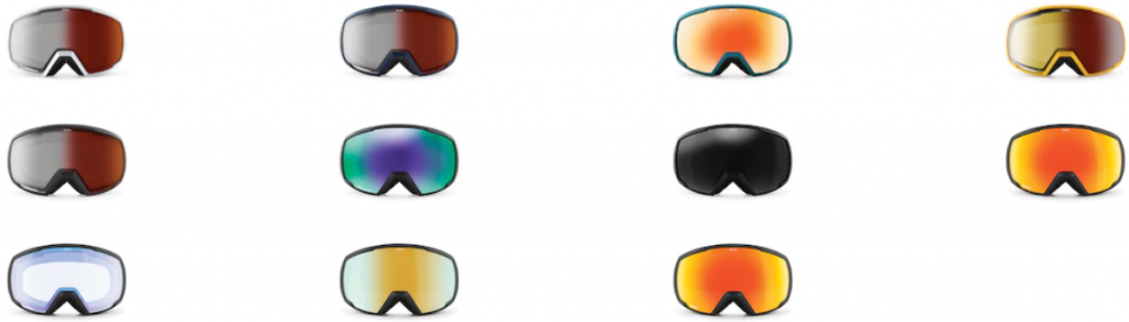 Review of Zeal Nomad Polarized automatic light changing goggles all 11 options