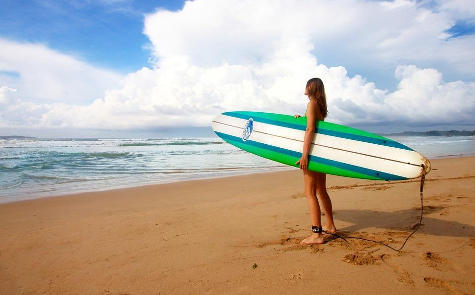 Women surfing retreats 3 best female surf camps in North America
