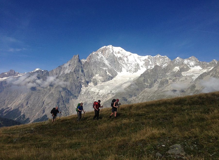Alps trekking holiday: Classic Tour Du Mont Blanc Image courtesy of Cloud 9 Adventure