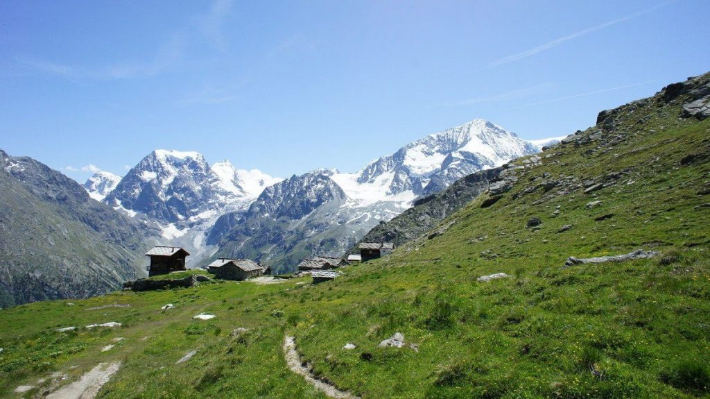 Haute Route one of the top 10 European trekking holidays Image courtesy of Cloud 9 Adventure