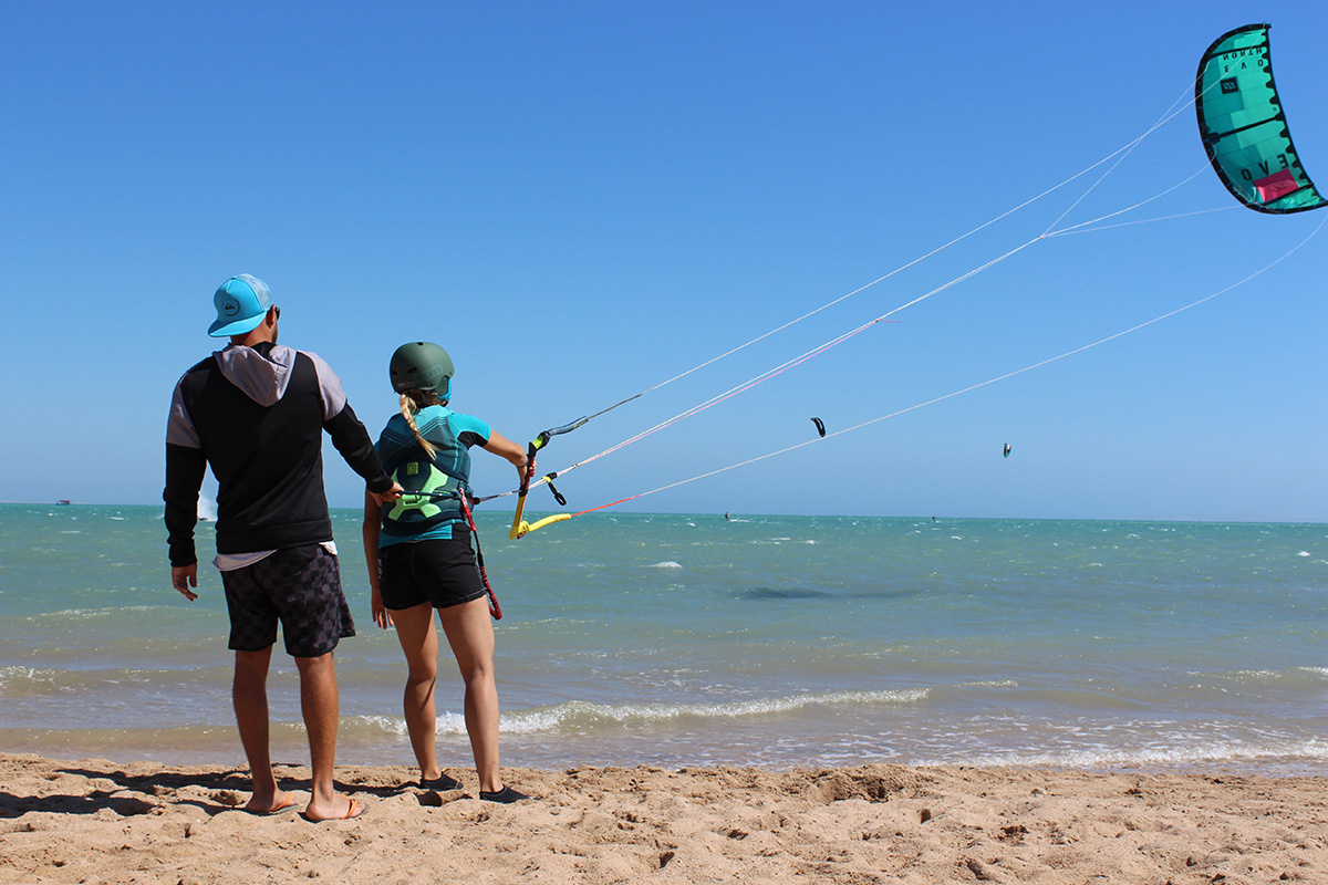Nomad Kite Events discount: 10% off El Gouna kitesurfing lessons