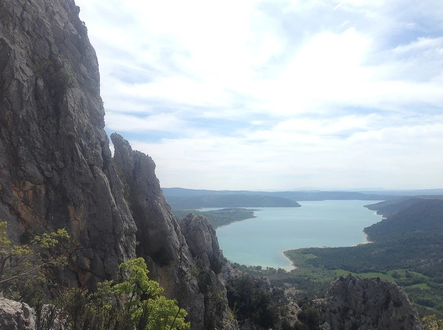 Verdon Gorge Trek one of the top European Trekking holidays Image courtesy of Cloud 9 Adventure