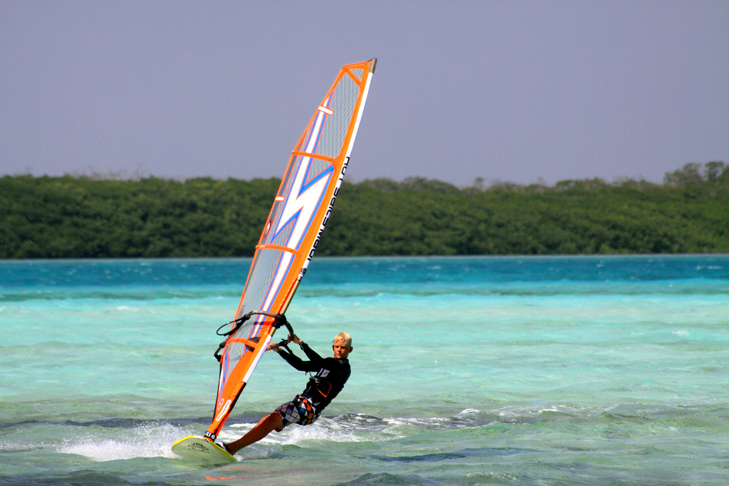 Bonaire Windsurfing holiday in paradise 10 best Caribbean windsurf spots Flickr image by queulat00