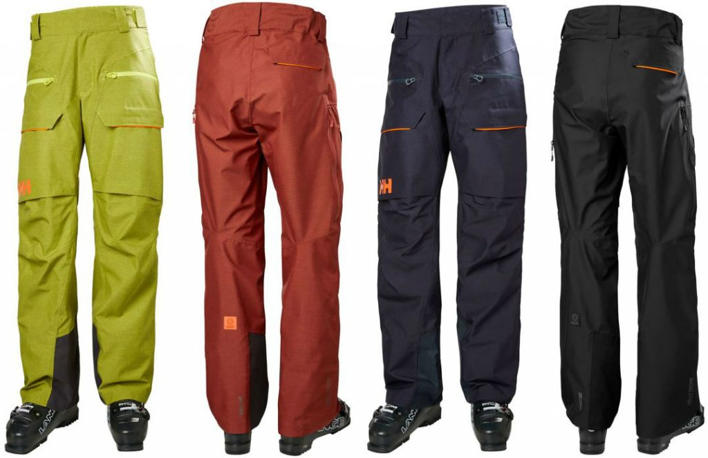 HH Garibaldi Pant review Freeride trousers for skiing or snowboarding