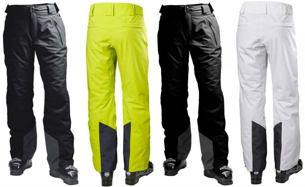 Review of Force Pants Stretchy insulated ski trousers by Helly Hansen come in 4 colours