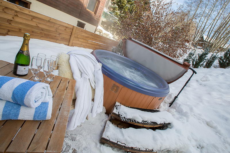 Review of More Mountain ski holidays in Morzine Laid back luxury hot tub