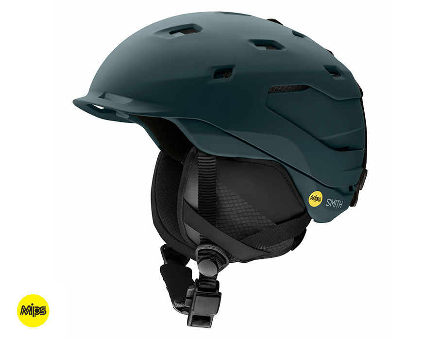 Review of Smith Quantum ski helmet with MIPS protection Deep Forest